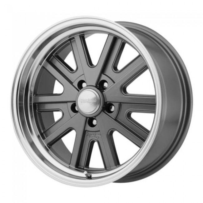 American Racing VN527 427 MONO CAST, Machine Grey wheel