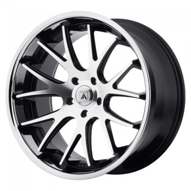 Asanti Black ABL-3, Machine Black wheel