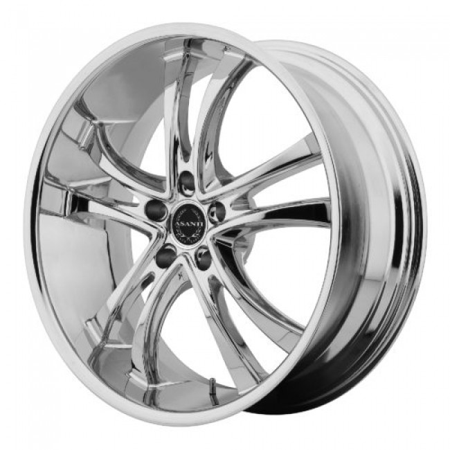 Asanti Black ABL-6, Chrome wheel