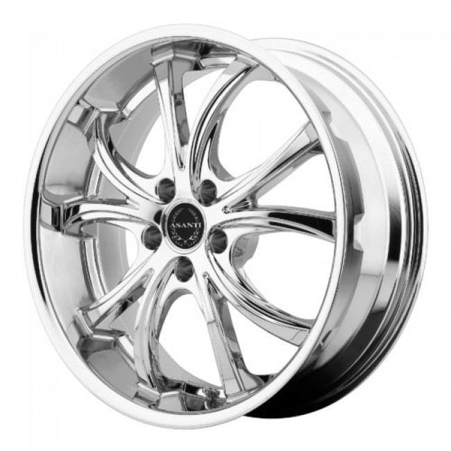Asanti Black ABL-8, Chrome wheel