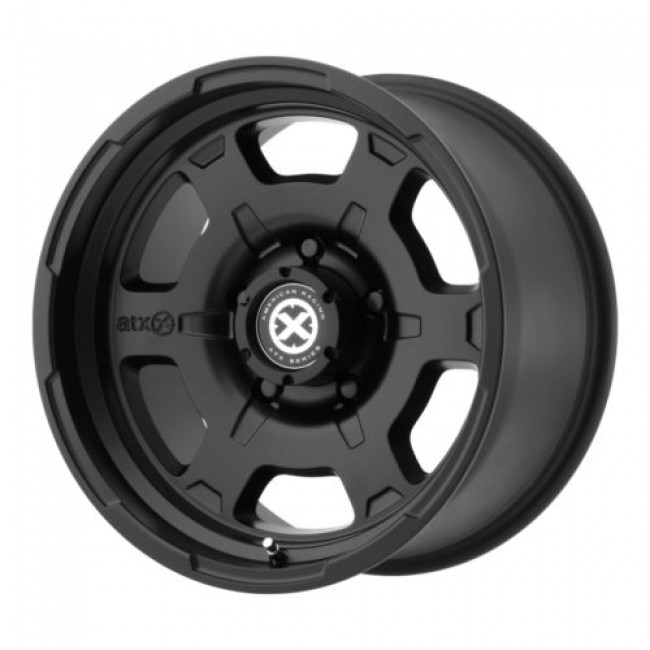 ATX Series AX198 CHAMBER II, Satin Black wheel