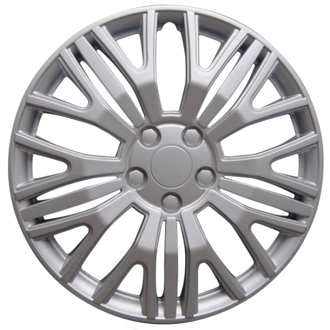 """Wheel Covers 17"""" (set of 4) - Silver - D104017S"""