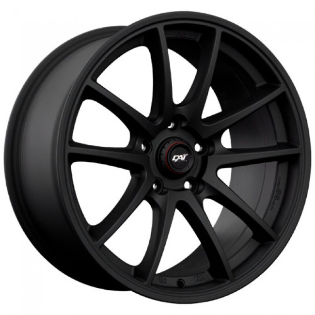 Dai Alloys R-Motion, Noir mat/Matt Black, 17X7.0, 4x100 (offset/deport 42), 73.1