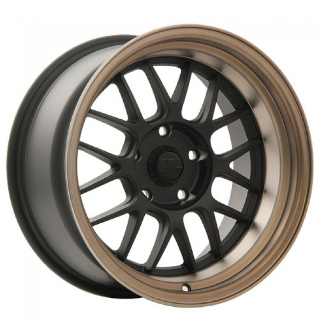 Dai Alloys Zero, Matt Black Machine wheel