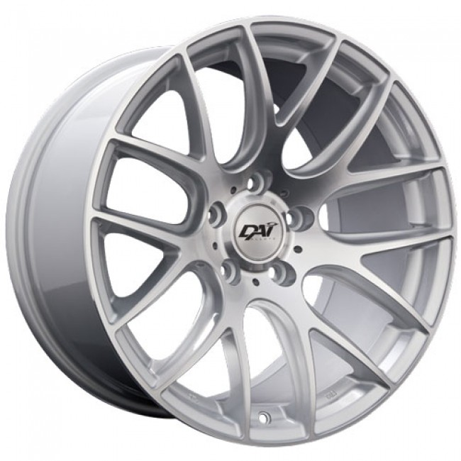 Dai Alloys Autobahn, Machine Silver wheel