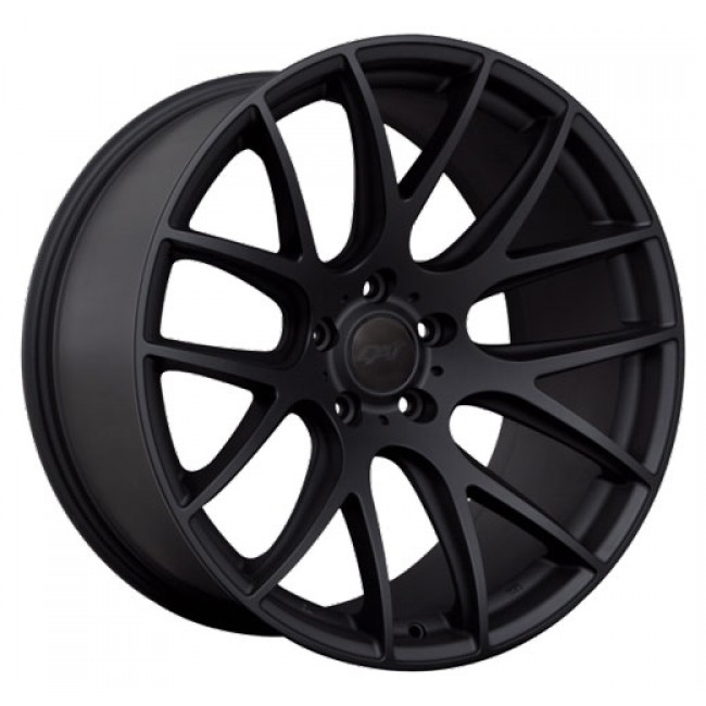 Dai Alloys Autobahn, Satin Black wheel