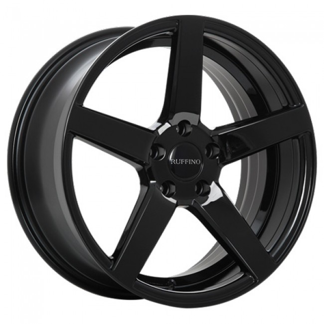Ruffino Wheels Boss, Gloss Black wheel