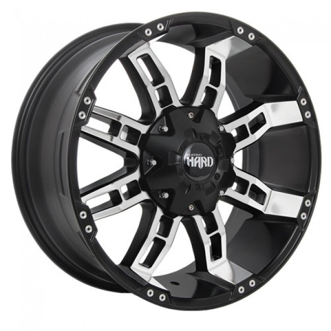 Ruffino Wheels Brute II, Gloss Black Machine wheel