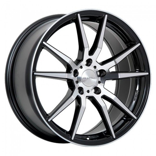 Ruffino Wheels Karbon, Gloss Black Machine wheel