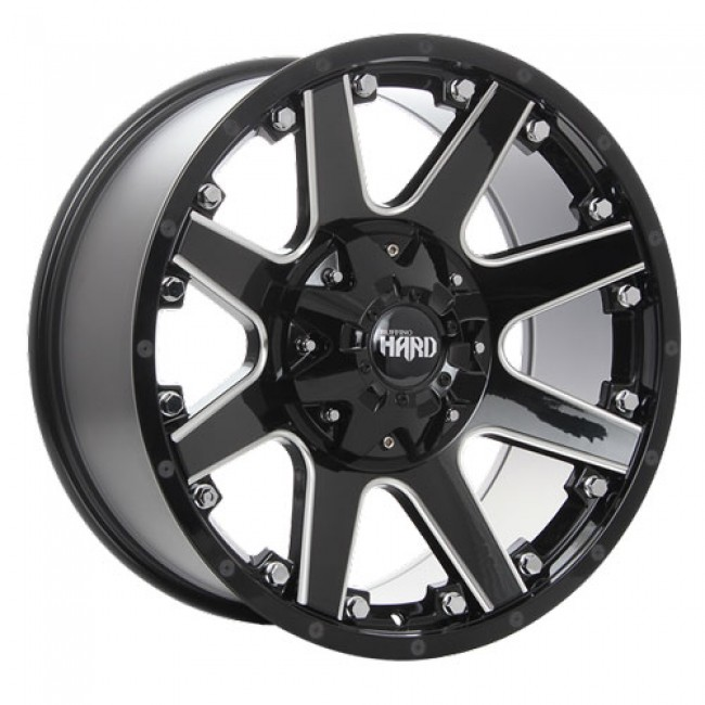 Ruffino Wheels Crew, Gloss Black Machine wheel