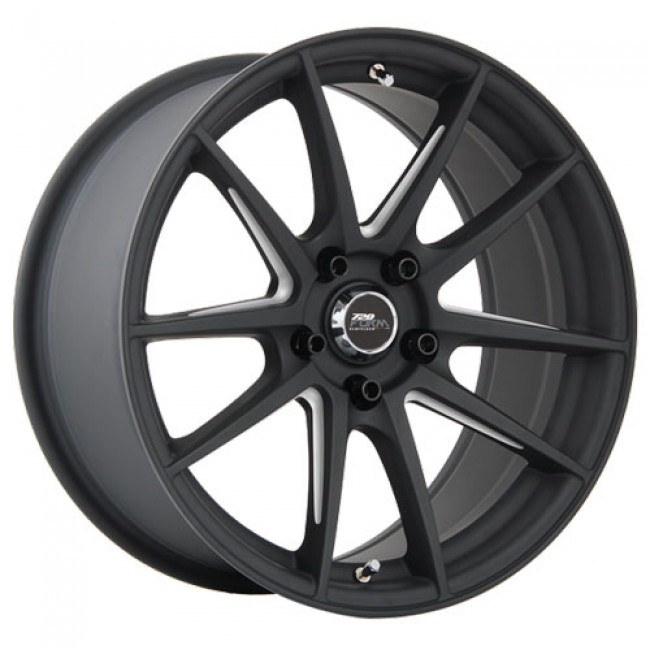 720 Form GTF1, Matt Black Machine wheel