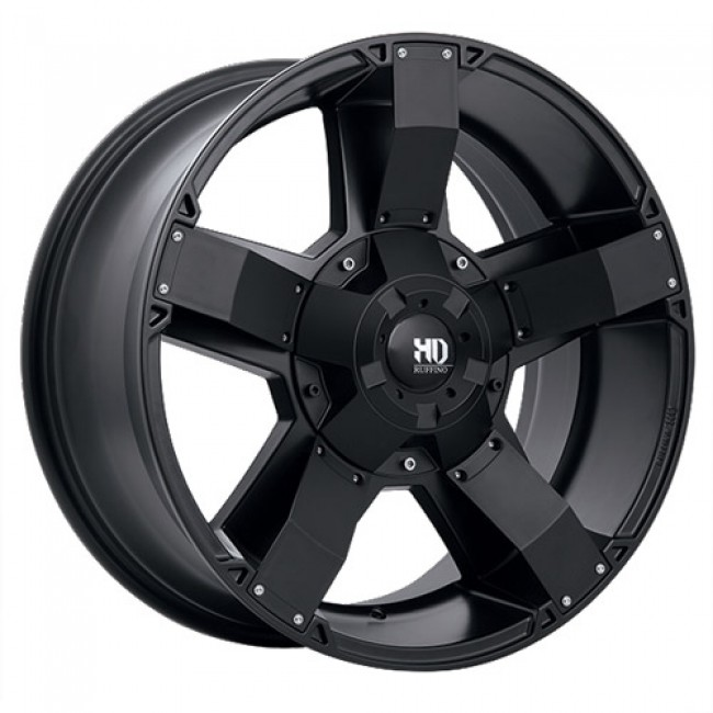 Ruffino Wheels Helix, Satin Black wheel
