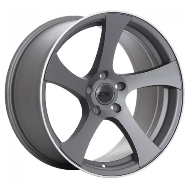 Dai Alloys Modular, Machine Gunmetal wheel