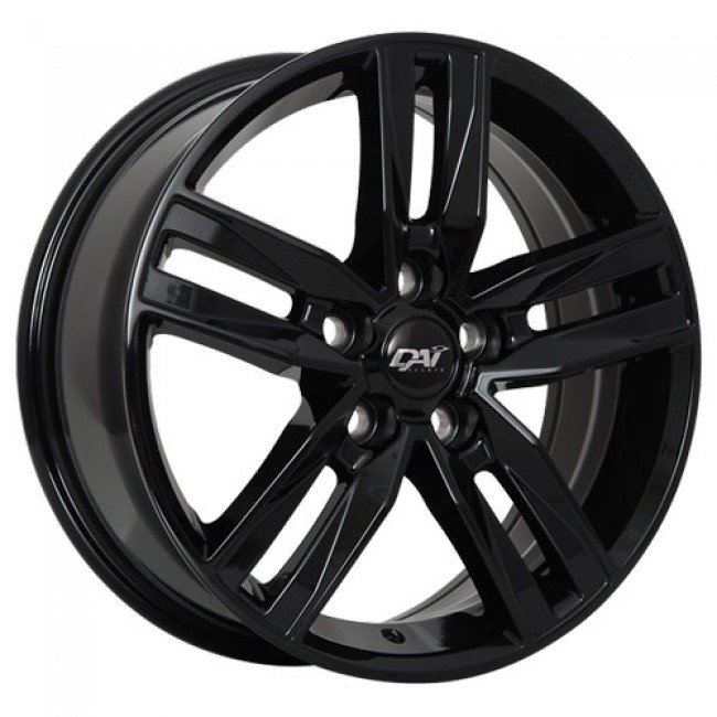 Dai Alloys Prime Gloss Black/Noir lustré, 18X8.0, 5x108 ,(déport/offset45 )63.4