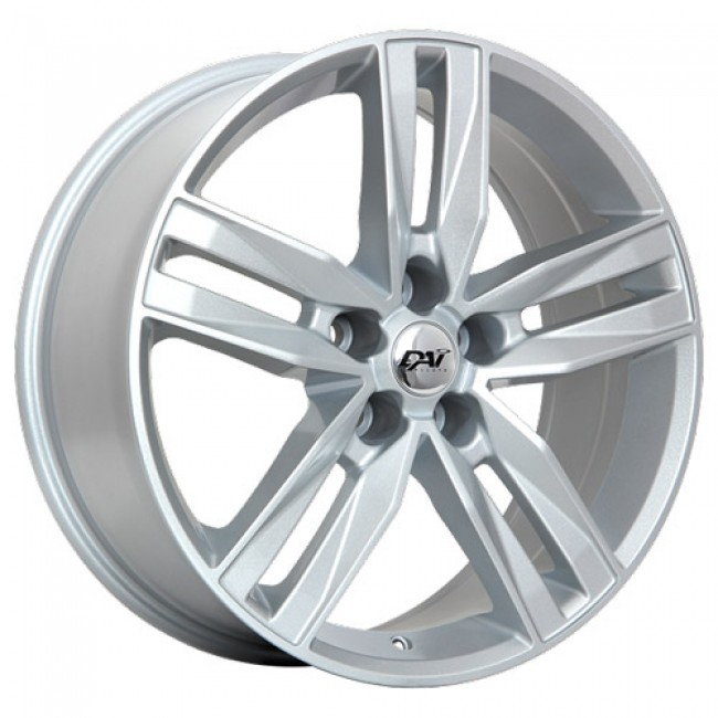 Dai Alloys Prime Metallic Silver/Argent métallique, 17X7.0, 5x112 ,(déport/offset45 )57.1