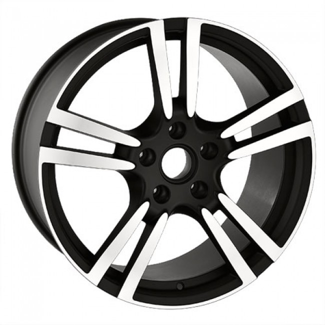 Art Replica Wheels Replica 25, Gloss Black Machine wheel