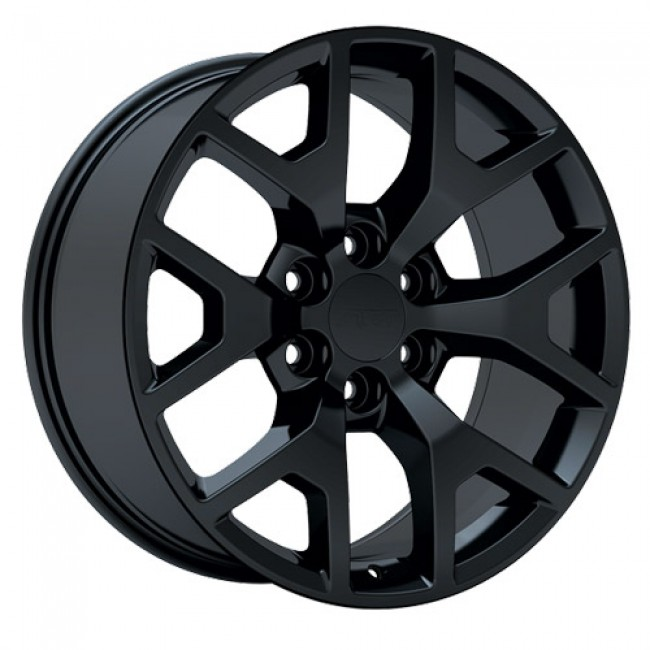 Art Replica Wheels R54, Satin Black wheel