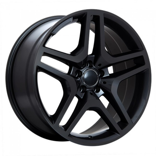 Art Replica Wheels Replica 57 Gloss Black/Noir lustré, 20X9.5, 5x112 ,(déport/offset48 )66.6 Mercedes