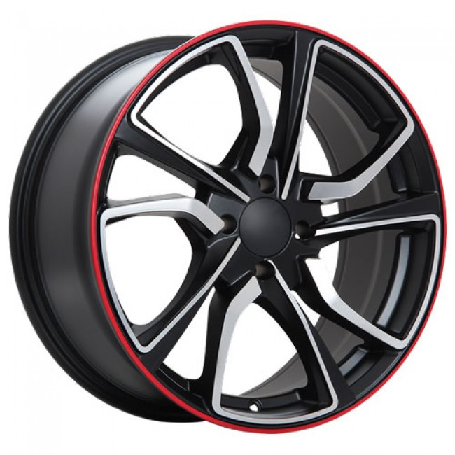 Art Replica Wheels R79, Machine Black wheel