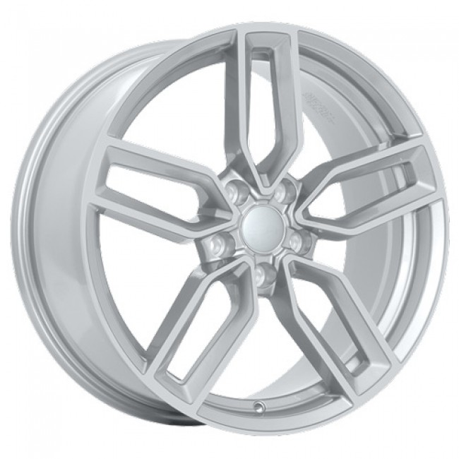 Art Replica Wheels Replica 91 Metallic Silver/Argent métallique, 18X8.0, 5x112 ,(déport/offset35 )66.5