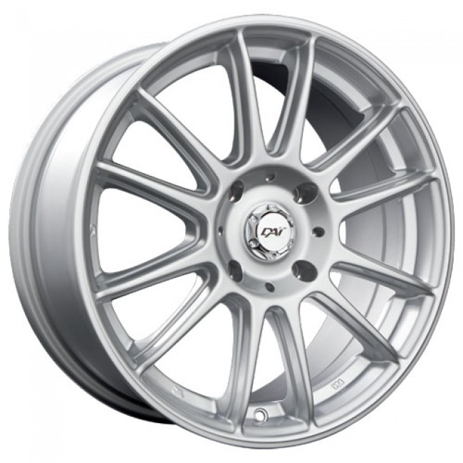 Dai Alloys Radial, Silver wheel