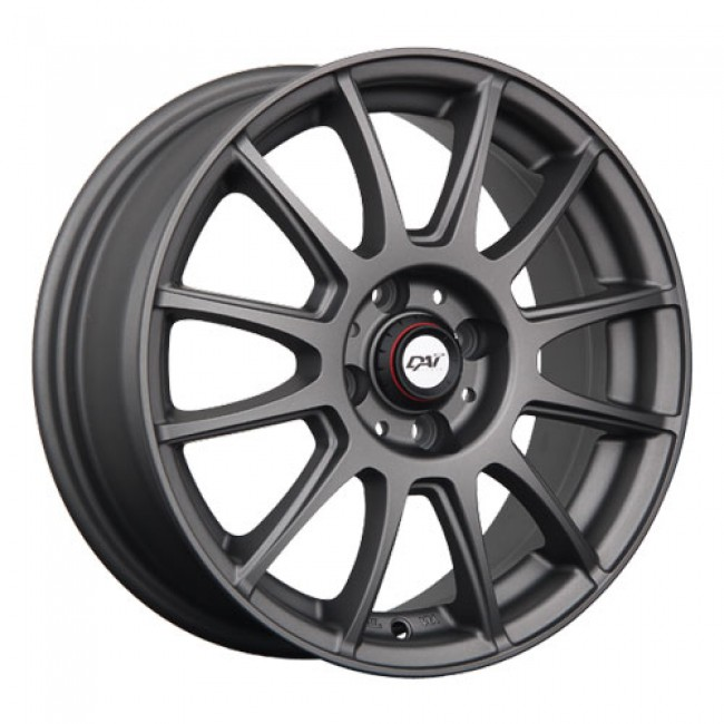 Dai Alloys Rado, Matt Anthracite wheel
