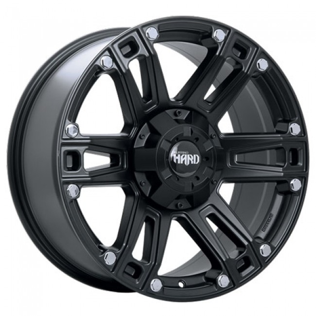 Ruffino Wheels Renegade II, Satin Black wheel