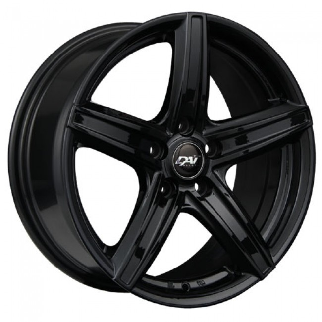Dai Alloys Revo, Gloss Black wheel