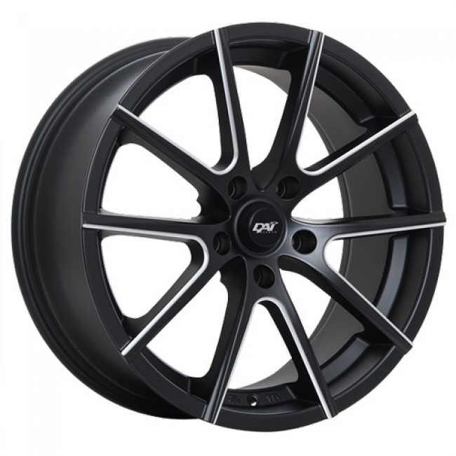 Dai Alloys Staar, Machine Black wheel