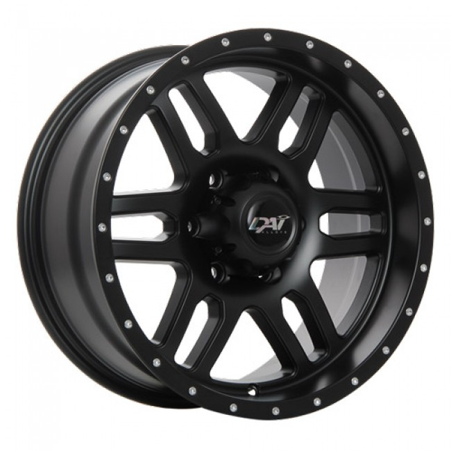 Dai Alloys Storm, Satin Black wheel