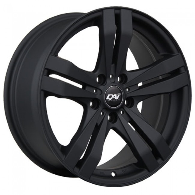 Dai Alloys Target, Matte Black wheel