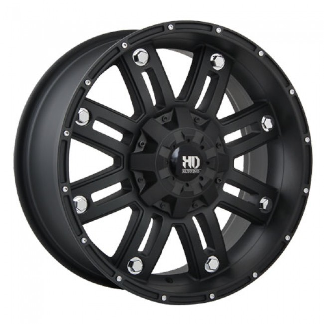 Ruffino Wheels Traxx, Matte Black wheel