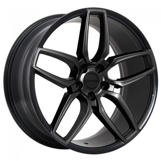 Ruffino Wheels Trofeo, Gloss Black wheel