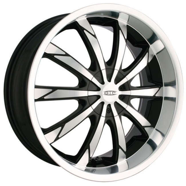 Dip D66 Slack, Machine Black wheel