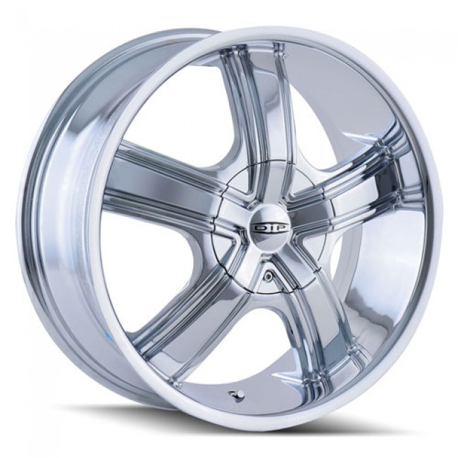 Dip D69 Boost Chrome / Chrome, 18X7.5, 5x108/114.3 ,(déport/offset 40 ) 72.62