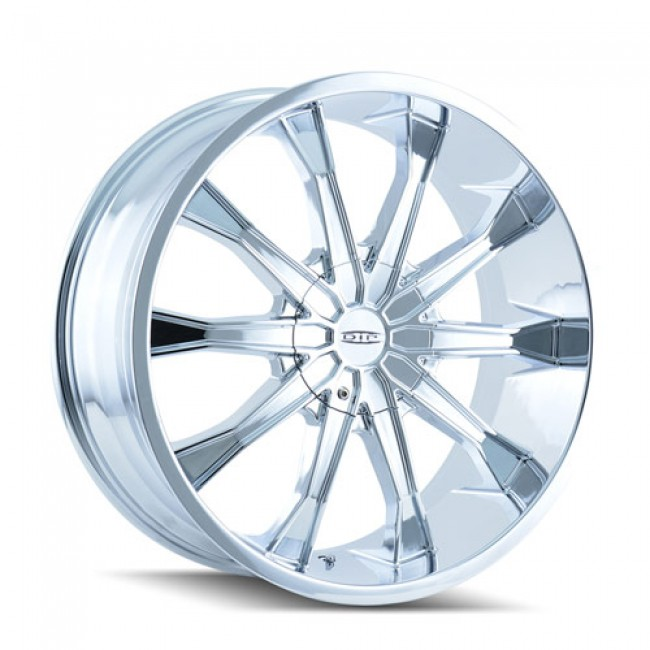 Dip D99 Mortar Chrome / Chrome, 20X8.5, 5x115/139.7 ,(déport/offset 18 ) 87