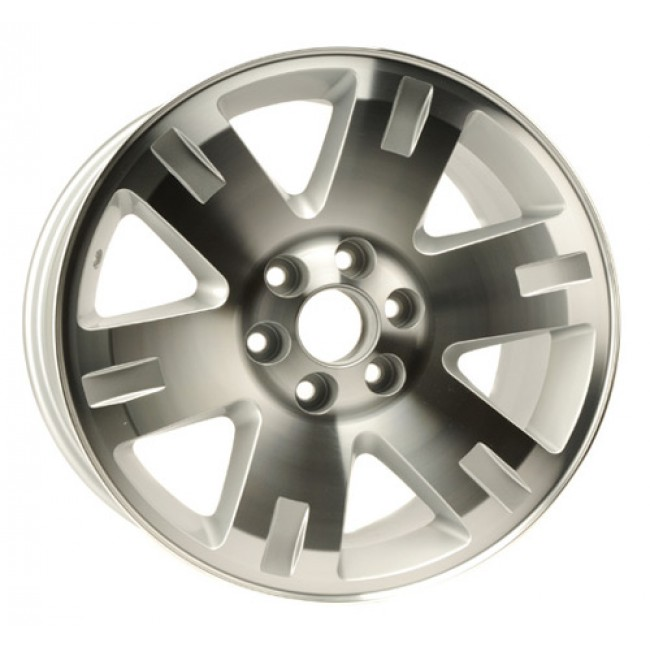 PMC OEM Replica Machined Silver / Argent Machine, 20X8.5, 6x139.7 ,(déport/offset 20 ) 78.1 Chevrolet / GMC