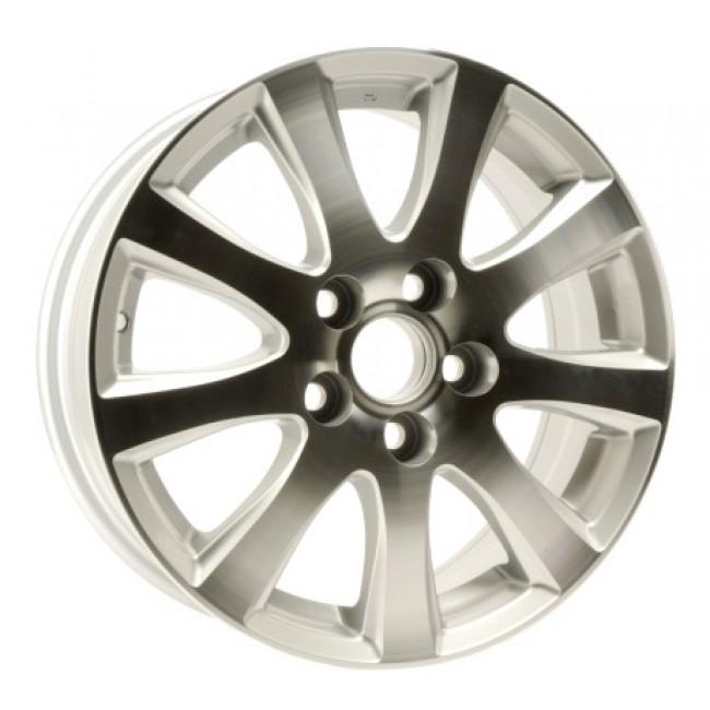 PMC OEM Replica Machined Silver / Argent Machine, 15X6.5, 5x100 ,(déport/offset 0 ) 54.1 Lexus / Scion / Toyota