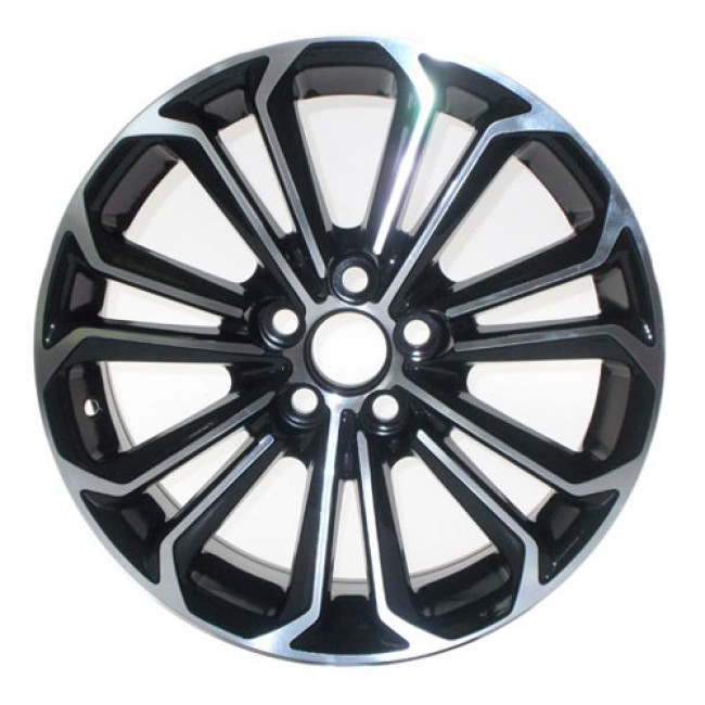 PMC OEM Replica Machined Black / Noir Machine, 15X6.5, 5x100 ,(déport/offset 39 ) 54.1 Scion / Toyota