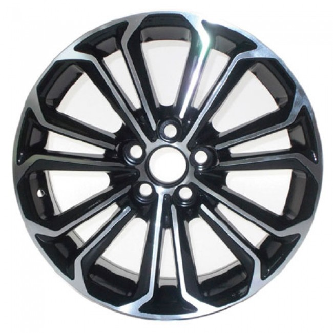PMC OEM Replica Machined Black / Noir Machine, 17X7, 5x100 ,(déport/offset 45 ) 60.1 Lexus / Scion / Toyota