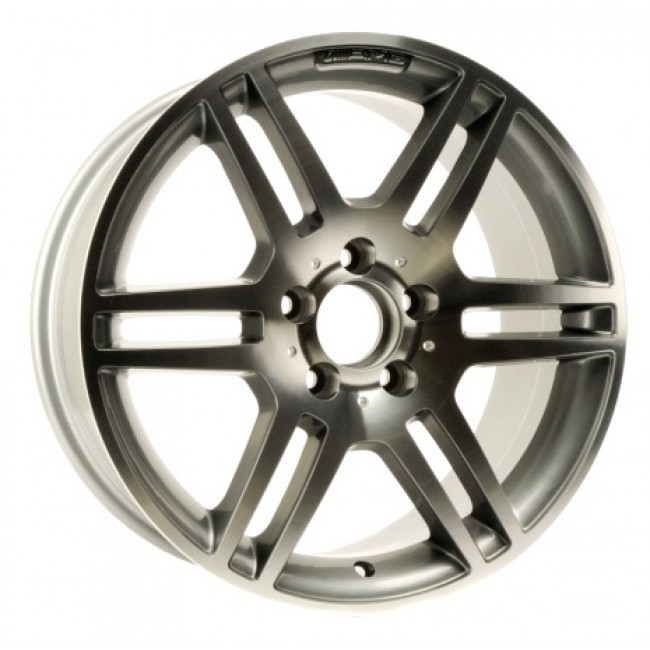 PMC OEM Replica Machined Silver / Argent Machine, 18X8.5, 5x112 ,(déport/offset 45 ) 66.6 Mercedes
