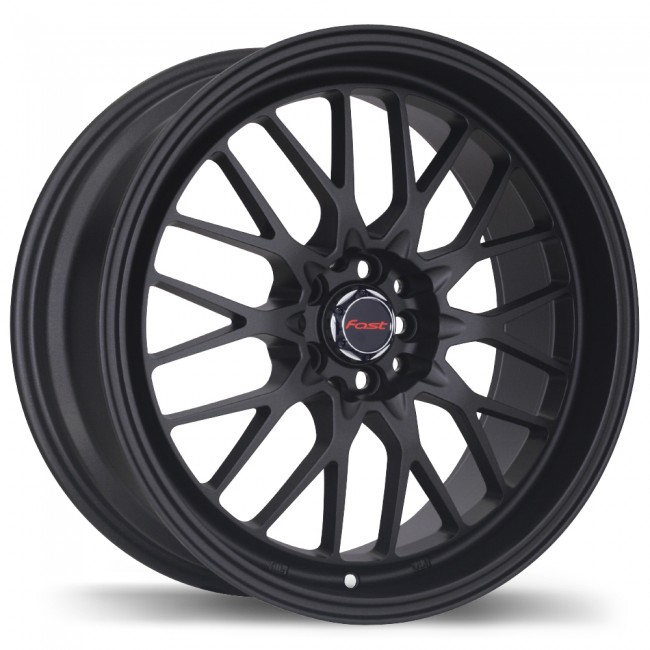 Fastwheels Europa, Matte Black wheel