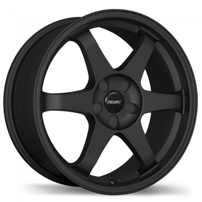 Fastwheels Hayaku, Satin Black wheel