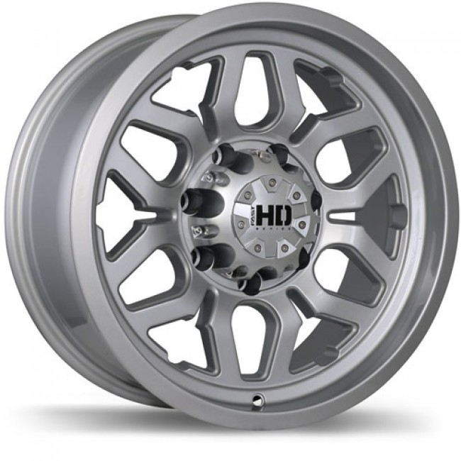 Fastwheels Rigg, Hyper Silver wheel