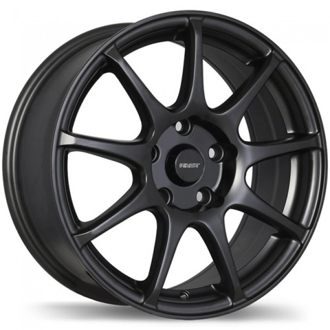 Fastwheels Orbit, Matte Black wheel