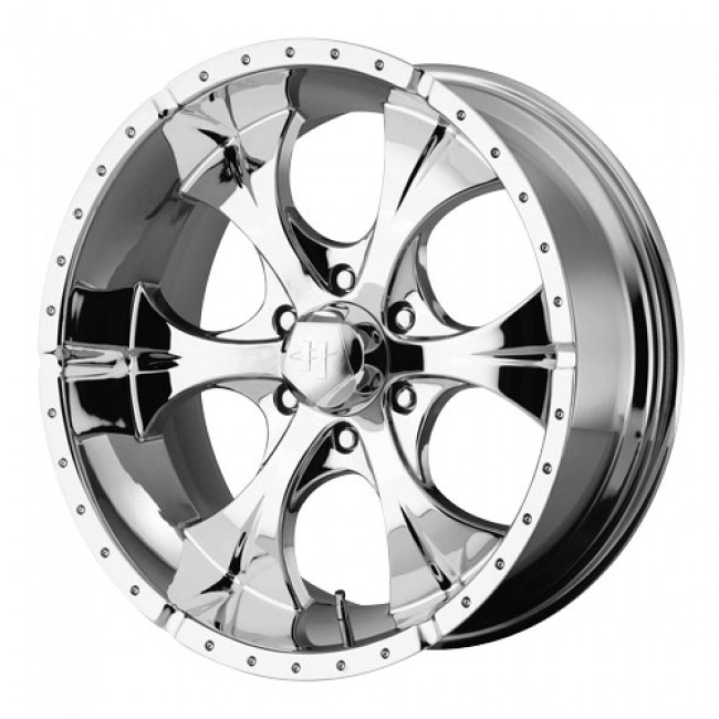 Helo Wheels Maxx, Chrome wheel