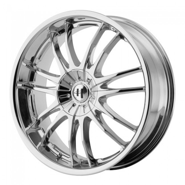Helo Wheels HE845, Chrome wheel
