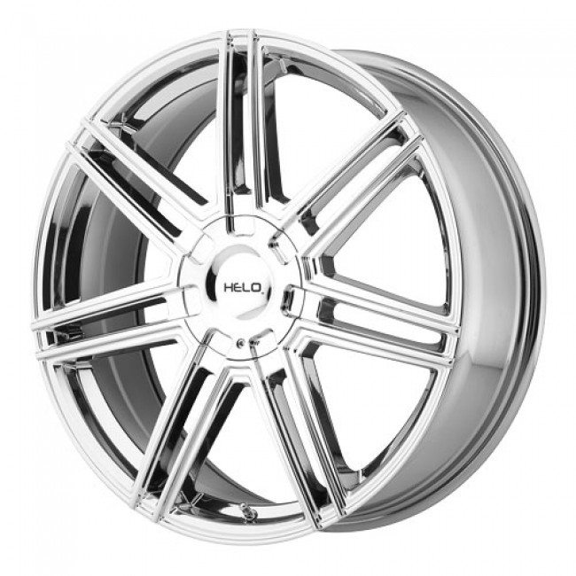 Helo Wheels HE884, PVD Chrome wheel
