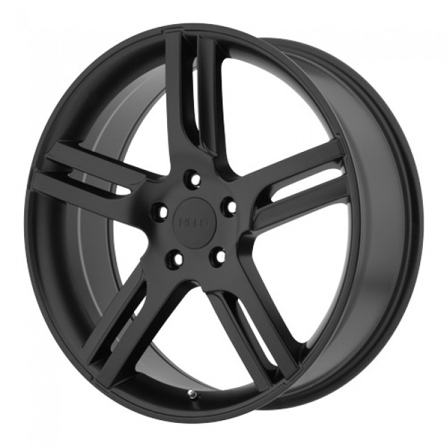 Helo Wheels HE885, Satin Black wheel