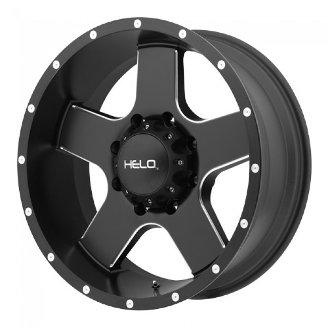 Helo Wheels HE886, Machine Black wheel